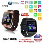 Pitch-black DZ09 Bluetooth Smart Watch Android Phone GSM SIM Smart Follow With Camera