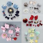 10pcs/set  Mixed Assorted Baby Kids Girls Bow Hair Pins Clips Hair Jewelry Gifts