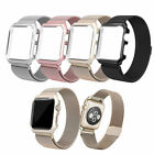 UK Metal Magnetic Stainless Steel Wrist Band Strap Frame For I Watch Apple Watch