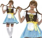 Olga Bavarian Costume Ladies Tavern Wench Fancy Dress Outfit Oktoberfest