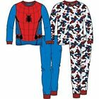 Boys Spiderman Spider-man Pajamas, 2 pk 4 pc Set