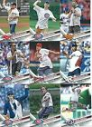 2017 Topps Series 1 First Pitch Baseball cards - Complete Your Set !!