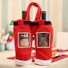 1PC Santa Pants Christmas Candy Bags Wine Stocking Bottle Gift Bag XMAS Decor LD
