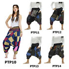 Pants PTP Cotton Patchwork Hmong Hill Tribe Tribal Harem Hippie Gypsy Women Men