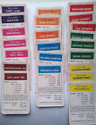 Monolopy Spares from a 1972 Game  Rules, Houses, Tokens, Money, Mortaged Cards