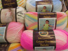 "Lion Brand Yarn ""Ice Cream"" DK Acrylic Yarn,100g knitting yarn. 21 colours!"