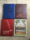 College Yearbook Lot Bucknell University Lewisburg PA  1948 1949 1950 1951