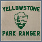 Yellowstone Park Ranger T SHIRT National Wyoming bears kayaking camping T SHIRT