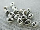 5x7mm 300/600/1200pcs SILVER COLOR ACRYLIC SPACER BEADS AB9314