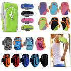 Universal Sport Running Riding Arm Band Holder Zipper Bag Case For Cell Phone US