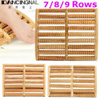 7/8/9 Raw Wooden Roller Foot Massager Stress Relief Health Therapy Relax Massage