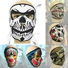 New Neoprene Full Face Mask Halloween Outdoor Sports Motorcycle Cycling EN24H
