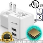 Dual 2 Port USB FAST Wall Charger Adapter For iPhone XS XR Samsung Galaxy Note 9