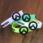 Game Overwatch Sign Silicone Rubber Luminous Wristbands Bangles