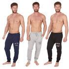 Mens pyjamas Lounge wear bottoms pants trousers designer pj jogging style cuff l