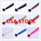 USA stock! 20inch Remy Flat Tip Human Hair Extensions 50g, 3-5 days delivery!