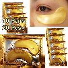 Aging Collagen 24k Gold Eye Patch Anti Mask 20 Pairs Under Wrinkle Crystal Gel