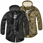 Brandit Marsh Lake Parka S-XXL, Fishtail Mantel Outdoor Jacke gesteppt Teddyfell