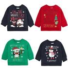 Baby Santa Snowman Penguin Christmas Sweater Xmas Jumper 6 to 24 Months