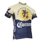 CORONA VINTAGE MEN'S SHORT SLEEVE CYCLING JERSEY - by Retro Image Apparel