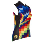 BALLOON WOMEN'S SLEEVELESS CYCLING JERSEY- by Retro Image Apparel