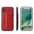 Classic Foldable Kickstand Protective Wallet Case For Apple iPhone X iPhoneX