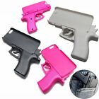 3D Gun Shape Hard Phone Shell & Soft Cat Case Cover for iPhone 5S 5C 6 6S 7 Plus