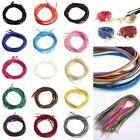 Beautiful Genuine Leather Suede  Cord Beading Thread Lace Flat Jewelry Making SY