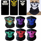 Hot Unisex Motorcycle Bike Cycling Balaclava Ghost Skull Mask Face Neck HeadCap