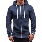 Men's Outwear Sweater Winter Hoodies Warm Jumper Coat Jacket Hooded Sweatshirts