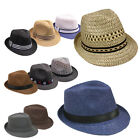 Silver Fever Panama Fedora Hat for Men or Women