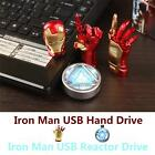 Iron Man 4GB 8GB 16GB 32GB Stylish Marvel USB 2.0 Flash Drive Memory Thumb Stick