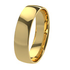 New 9ct 375 Yellow Gold 5mm Court Shape Wedding Ring Band Solid & UK Hallmarked