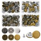40 Sets Jeans Button Tack Buttons Metal Replacement Craft Working Kit Useful SY
