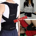 Support Brace Posture Corrector Adjustable Straps Cervical Spine Upper Back Pain