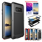 For Samsung Galaxy Note 8 S8+ Plus Shockproof Metal Heavy Duty Rubber Case Cover