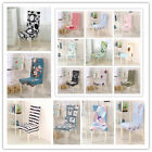 1X Elastic Stretch Slipcovers Removable Dining Room Single Chair Seat Cover
