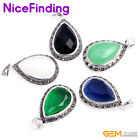 14x20mm Fashion Drip Stone Necklace Pendant Jewelry For Women Christmas Presents