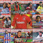 90 Minutes football magazine A4 player picture poster Nottingham Forest  VARIOUS