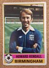 TOPPS Chewing Gum (Ex A&BC) 1977 Red Back football cards BIRMINGHAM CITY Various