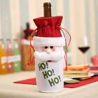 Christmas Red Wine Bottle Covers Bag Dinner Table Xmas Christmas Decor For Home