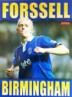 MATCH football magazine retro player A4 picture poster Birmingham City - VARIOUS