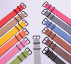 wholesale DB black buckle Super fiber Watch band watch strap 13color available