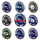 NFL Metal Bottle Cap Wall Sign-Pick Your Team- Free Shipping on eBay