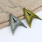 Star Trek Sliver Bronze Stainless Metal Chain Cosplay Necklace TRENDY HOT ISSUE on eBay