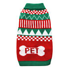 Xmas Gift Warm Knitted Jumper Sweater Hoodie Coat Clothes Pet Dog Cat Costumes