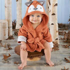 USA Boy Girl Animal Bathrobe Baby Hooded Bath Towel Infant Bathing Honey Baby