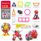 Magnetic Building Blocks Toys Set Educational DIY Toy Birthday Xmas Gift
