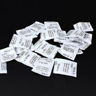 25-100 Packs 1g Non-Toxic Silica Gel Desiccant Moisture Absorber Dehumidifier