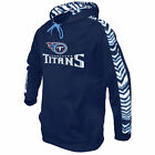 Zubaz Tennessee Titans Navy/Light Blue Solid Hoodie - NFL